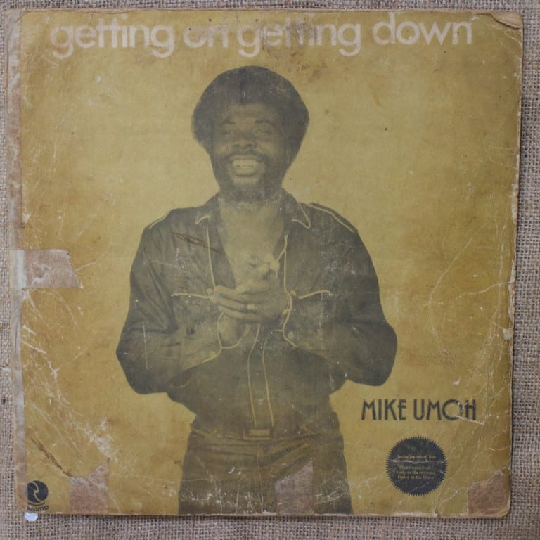 Mike Umoh Nigerian LP Getting On Getting Down for sale