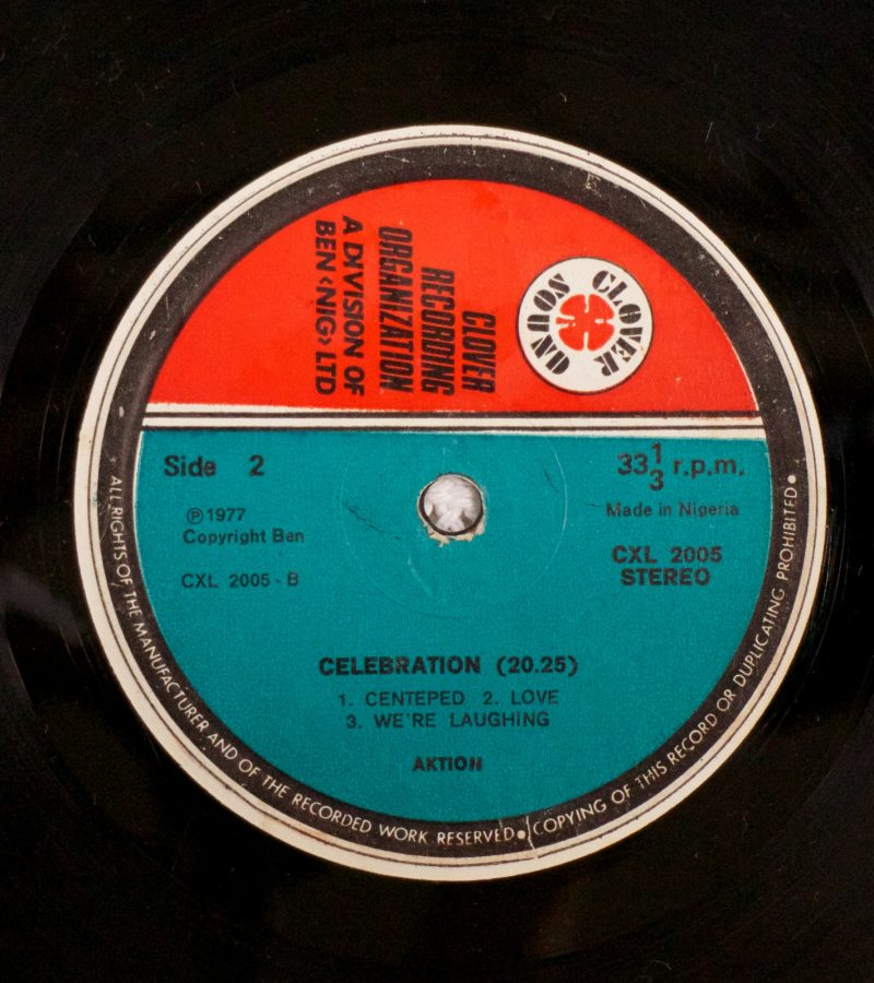 Aktion LP label