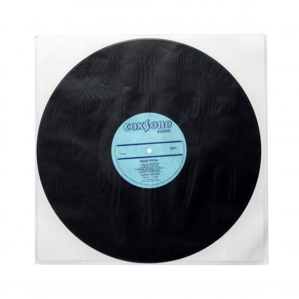 12 inch inner sleeve poly with paper insert made in japan