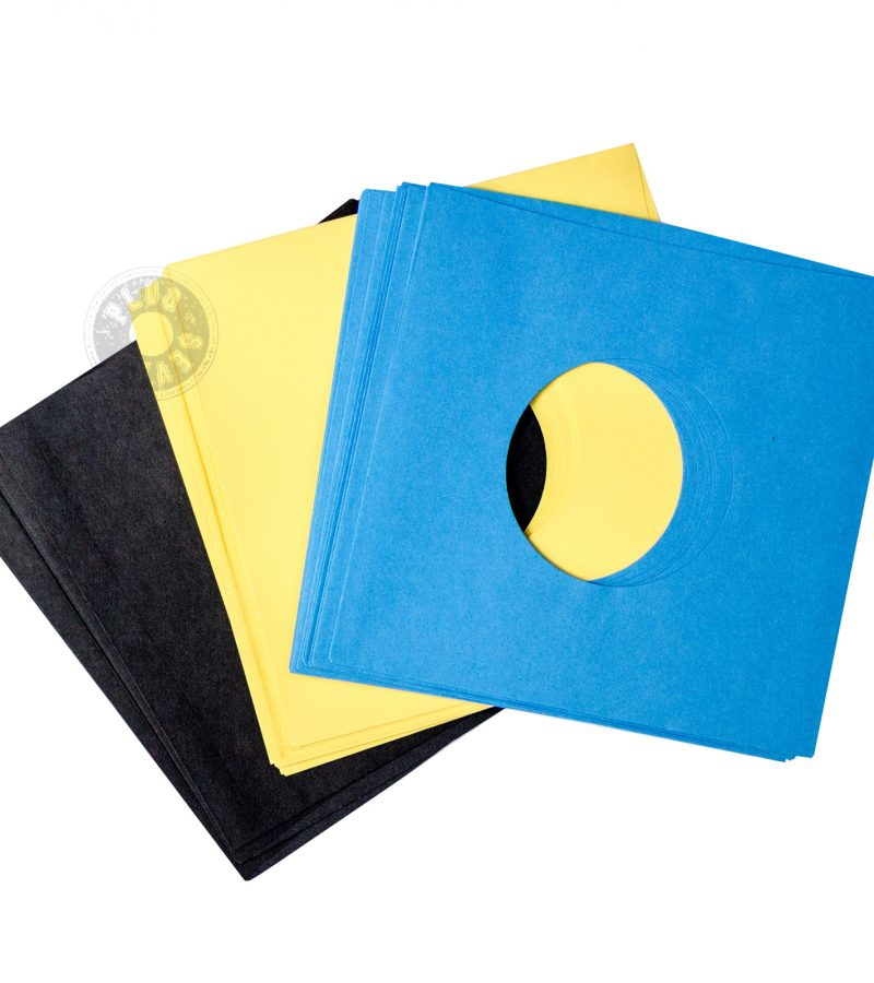 colour paper 7 inch sleeves