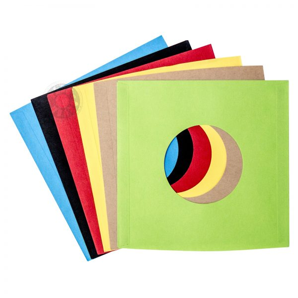 colour paper 7 inch sleeves from japan