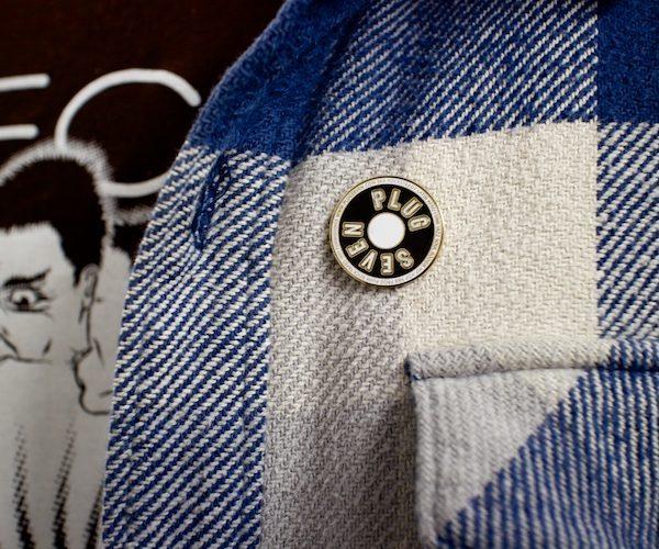plug seven shirt pin